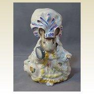 "Beatrix Potter's ""Lady Mouse"" Figure by Beswick"