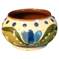 Scandy Sugar Bowl Blue Flower Torquay Mottoware