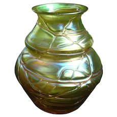 Pallme König Art Glass Vase Bohemian