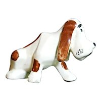 Grindley Ohio Sad-faced Basset Hound Dog Figurine 1930s