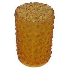 Daisy & Button Amber Glass (Pickle Castor Replacement Glass)