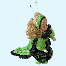 "Countess Caterpillar 6"" Doll NRFB Bitty Bug COA Marie Osmond"