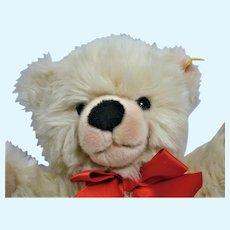 """Steiff Teddy Bear Bobby Plush 12"""" Tags & Button Mint Retired"""