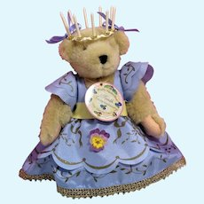 Muffy 10th Anniversary North American Bear Co 1994 NRFB Pansy Dress