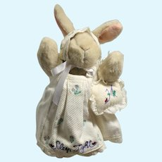 Hoppy Sleep Tight Bunny North American Bear Company Muffy's Companion Rabbit
