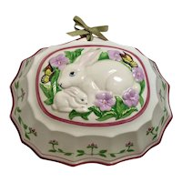 Cordon Blue Rabbit & Butterfly Ceramic Mold