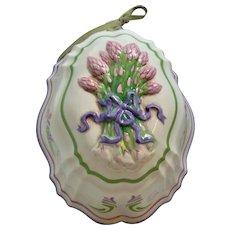 Cordon Blue Asparagus Ceramic Mold French Provincial