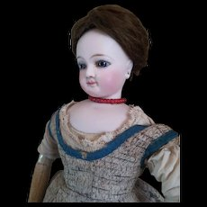 Lovely Attic Find French Fashion Doll Jumeau Size 2.