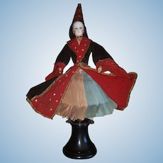 "15"" 3/8 (39cm) Exceptional French Doll ""A BONNE AVENTURE"" Fortune Teller luxurious original costume."