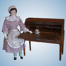 Elegant and extremely rare French Furniture for Early Doll 18th century.