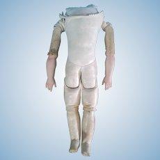 "15"" (38.5cm) Interesting Kestner Body Doll bisque arms  Bru Type size 8"