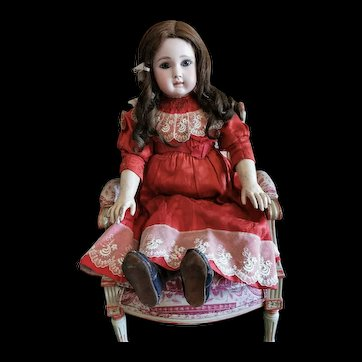 Exceptional All original French Bisque BEBE by jules Steiner figure A 15.