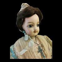 French Fashion Smilling Doll original costume Arlesien.