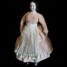 Interesting China Doll with small trousseau