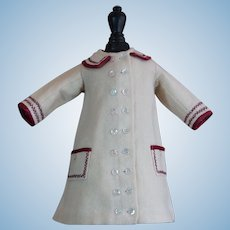 Gorgeous and Antique dress for French BEBE Jumeau , Steiner , Gaultier