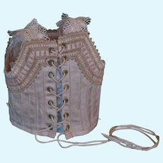 Lovely French corset for Bebe Jumeau.