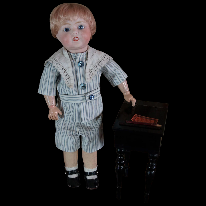 5f8289ee7ffb7 Rare and cute little French character Boy Toto Lanternier Limoges ...