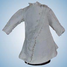 Beautiful white dress for Early BEBE JUMEAU