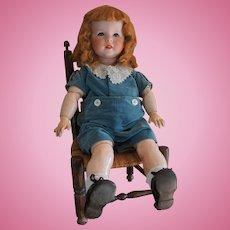 "Rare French character doll BEBE SFBJ 247 27"""