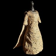 Vintage bru dress made by a fashion dress maker