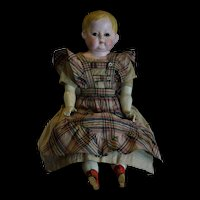 Beautiful German Doll Wax-over Papier-mâche.
