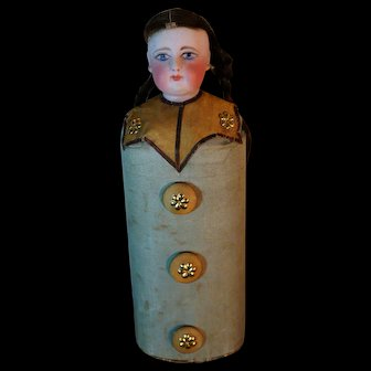 Small candy box Pierrot costume by Francois Gaultier.