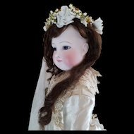 "25"" Lovely Fashion Doll Barrois with her original bride Gown."