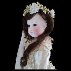 "25"" Wonderful Fashion Doll Barrois with her original bride Gown."