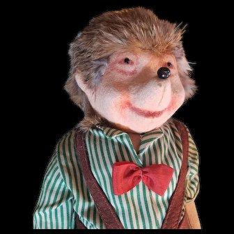 Charming little Hedgehog Felt made Lenci Type.