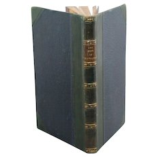 The Song of Hiawatha by HW Longfellow (1855 first printing) David Bogue, Fleet Street, London