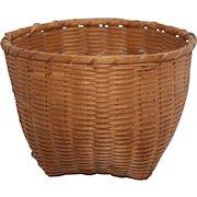 "Antique Shaker ""cat's head"" basket"