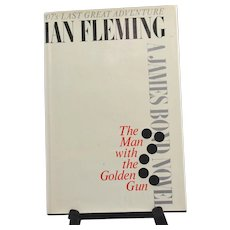 The Man With The Golden Gun by Ian Fleming first printing US 1965