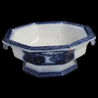 Washington Vase pattern open vegetable bowl