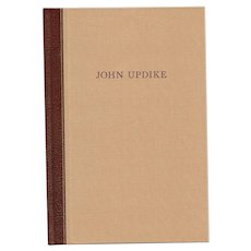"""A Soft Spring Night in Shillington"" Signed/Limited Edition by John Updike"