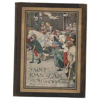 Saint Joan of Arc by Mark Twain (First Edition, Second State)