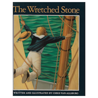 The Wretched Stone by Chris Van Allsburg (Signed First Edition)