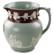 Antique Copeland Late Spode Pitcher: Good old ALE