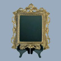 Antique National Bronze and Iron Works Framed Wall Mirror NB & IW 2020