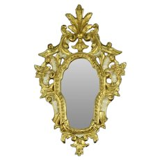 Vintage Italian Florentine Gilded Wall Mirror