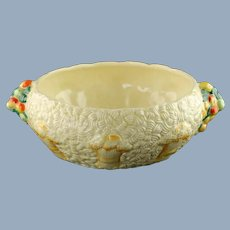 Vintage Clarice Cliff Celtic Harvest Bowl