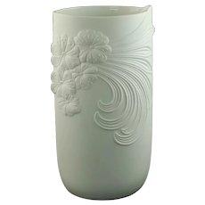 Vintage Manfred Frey for AK Kaiser West Germany Bisque Porcelain Vase