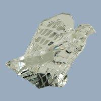 Vintage Steuben Art Glass Crystal American Eagle Figurine 8304