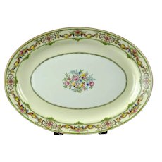 Antique Mintons Bone China Stratford Medium Platter