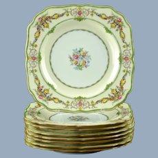 Vintage Mintons Bone China Stratford Luncheon Plates - Set of 8
