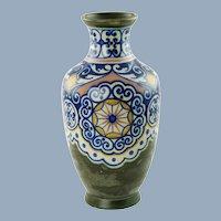 Antique Gouda Holland Matte Glazed Vase Carla Decor