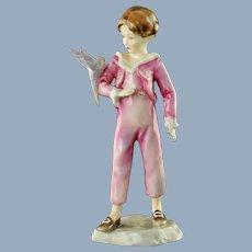 Vintage Royal Worcester Figurine The Parakeet 3087