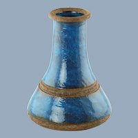 Vintage Bitossi for Raymor Large Vase with Rimini Blue Glaze