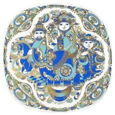 Vintage Bjorn Wiinblad for Rosenthal Limited Edition 1978 Christmas Plate Three Magi