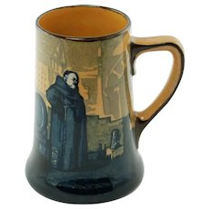 Antique Royal Doulton Charles Noke Monks in the Cellar Tankard Stein D2385