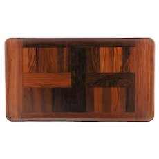 Vintage Limited Edition Jens Quistgaard for Dansk Coca Bola Rare Woods Collection Tray